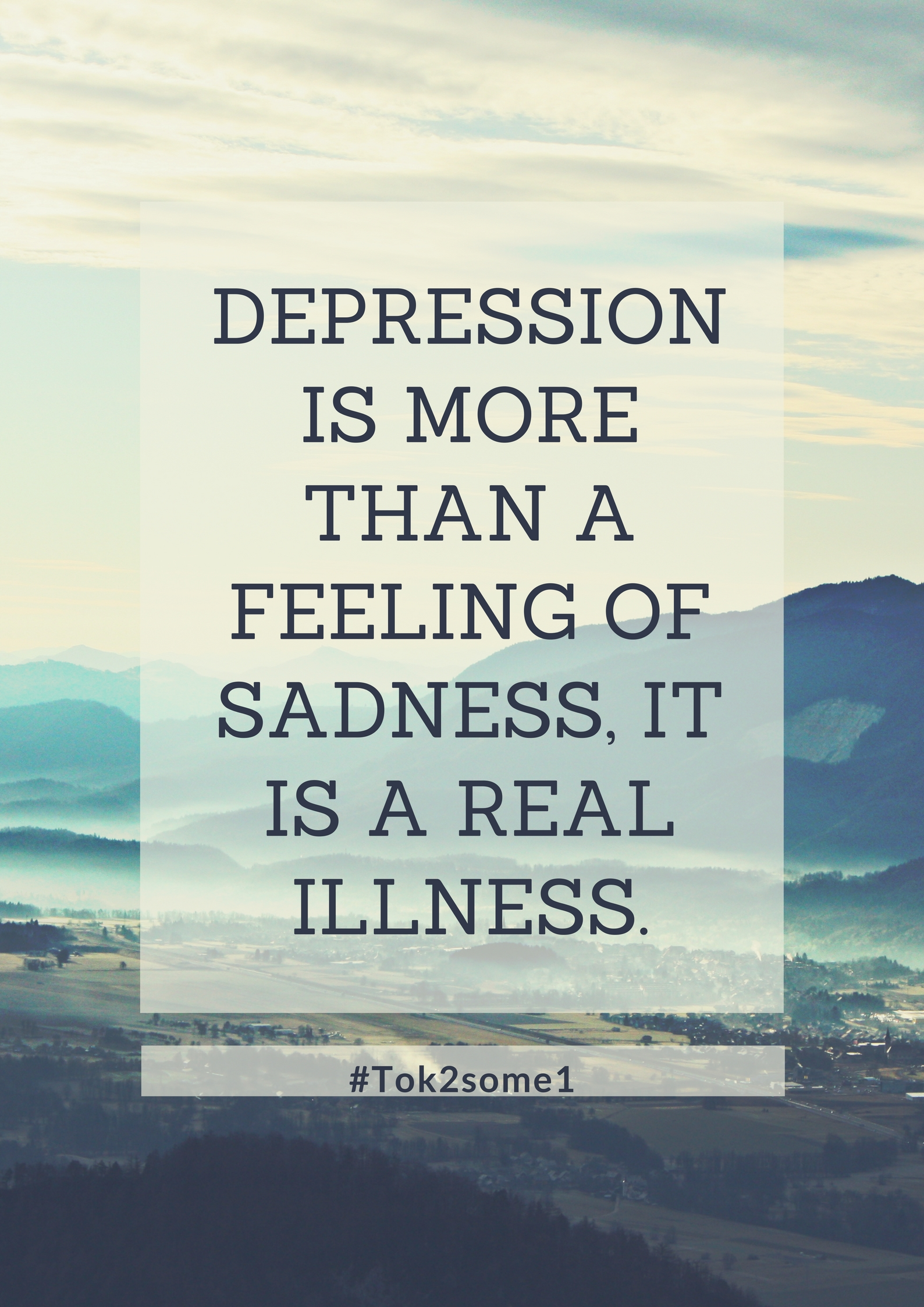 Depression is a real illness