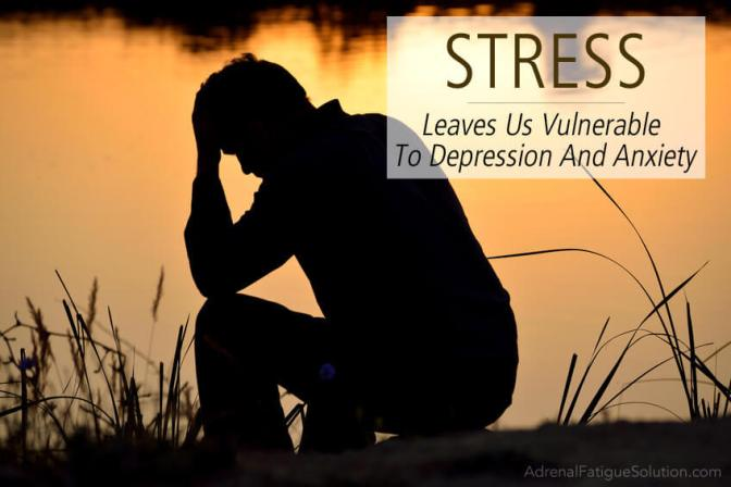 The stress of depression