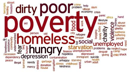 Poverty, the foe that plunges us into depression